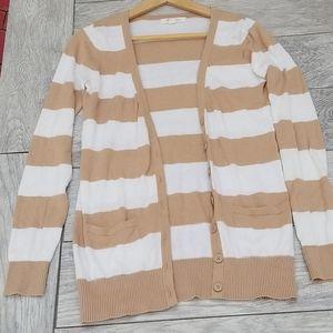 Stripped sweater sz s